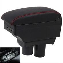 Caja apoyabrazos para Citroen c-elysee Elysee Peugeot 301, almacenamiento de contenido de tienda, caja central, interfaz USB