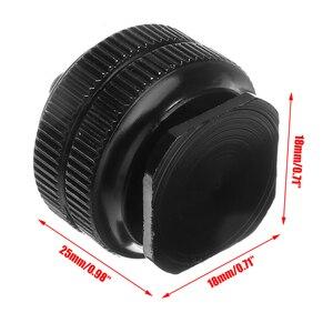 """Image 5 - Mayitr Pro 1/4 """"double écrous trépied montage vis noir à Flash adaptateur de chaussures chaudes pour appareil photo Studio accessoire"""
