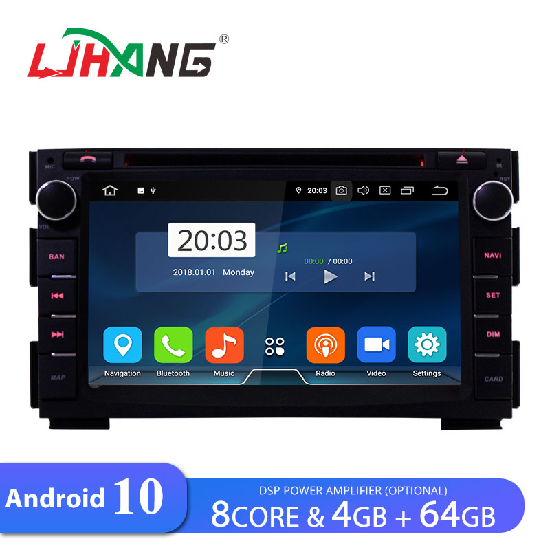 LJHANG IPS 8 Core Car DVD Player <font><b>Android</b></font> <font><b>10</b></font> For Kia Ceed 2010 2011 2012 <font><b>GPS</b></font> Navi WIFI Multimedia 2 Din Car Radio Stereo Auto RDS image