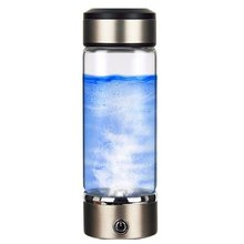 Portable Hydrogen Water Generator Rechargeable Portable For Pure H2 Hydrogen-Rich Water Bottle hydrogen water generator 350ml 150w portable ionized water generator glass bottle water purification for body healthy