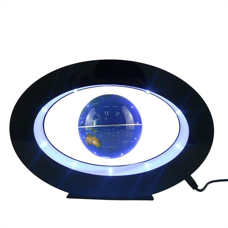 Levitação magnética lâmpada de mesa flutuante lâmpada para presente natal decoração ímã levitação luz da noite carregador sem fio para o telefone - 3