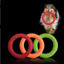 2019 Dog Flying Discs Pet Training Ring Interactive Training Dog Toy Portable Outdoors Large Dog Toys Pet Products Motion Tools(China)