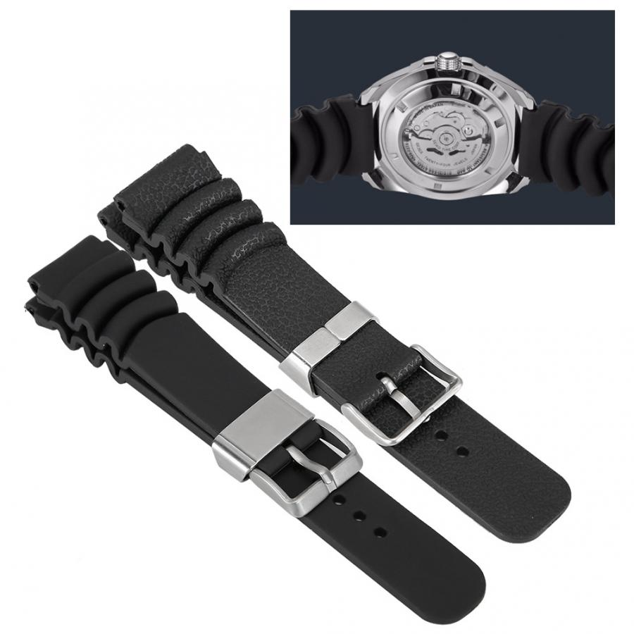 Watches Strap PU Watchband Strap Replacement Upgrade Watch Bands Easy to Use Watch Accessory With Steel Ring Watch Accessories