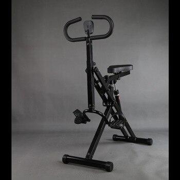 Ultrasport f-bike y f-rider Fitness Bike Trainer equipo deportivo Ideal Cardio Trainer, entrenador interior plegable para uso doméstico