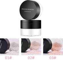 Portable Ultra-Light Cermin Puff Loose Powder 3 Warna Makeup Kulit Powder 10G Mineral Pengaturan Foundation Bubuk TSLM1(China)