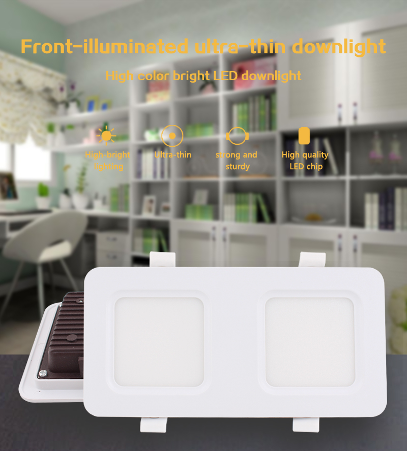 12V <font><b>LED</b></font> Downlight ST Down Lamp <font><b>2835</b></font> 12W <font><b>18W</b></font> 24W SMD 12 V <font><b>LED</b></font> Driver Down light kitchen rectangle Recessed Ceiling <font><b>Led</b></font> Light image