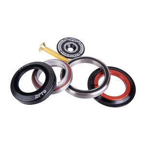 """Image 5 - Bicycle Headset 42mm 52mm CNC 1 1/8"""" 1 1/2"""" MTB Bearing Straight And Tapered Tube Fork IS42 IS52 Steer Column Integrated System"""