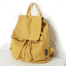 2019 Casual Canvas Shoulder Bag Women Backpack Mochila Escolar School Bags For Teenagers Girls Top-handle Backpacks Book bag