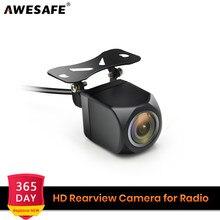 120 degrés Angle HD Auto vue arrière caméra voiture arrière caméra de recul étanche caméra de stationnement pour AWESAFE DVD