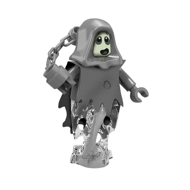 Horror Figure Blocks Ghost Dolls Toy For Children Single Sale Bricks Building Blocks Children Kids Boys Gift Toys