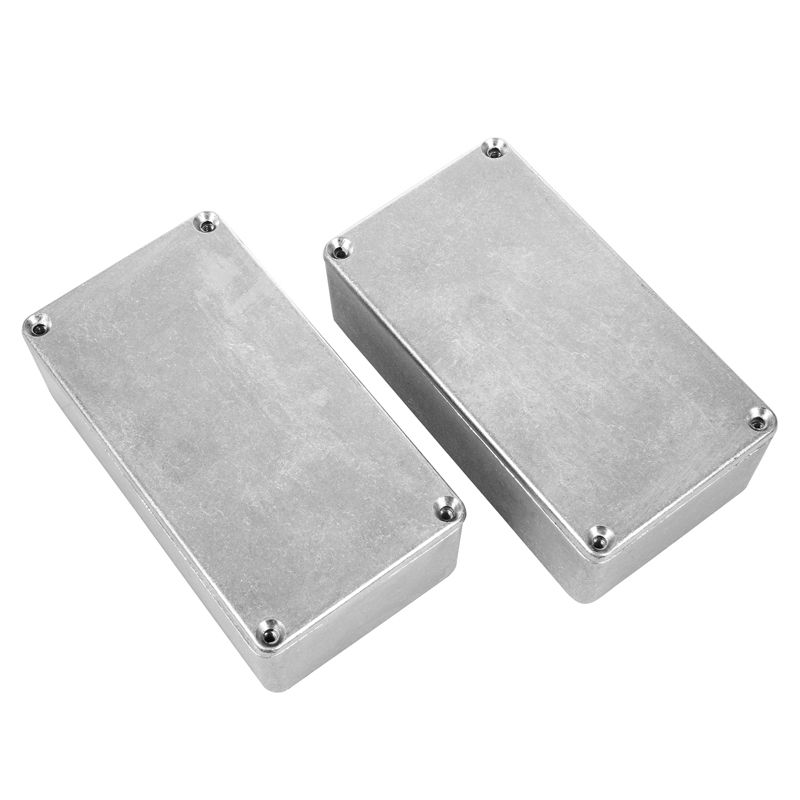 2pcs 125B/1590N1 Aluminum case guitar stompbox&pedal enclosure for guitar effect pedal project