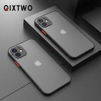 Funda de teléfono de silicona a prueba de golpes para iPhone, carcasa fina transparente de lujo a prueba de golpes para iPhone 13 12 11 Pro Max Mini X XS XR 7 8 Plus SE 2 2020