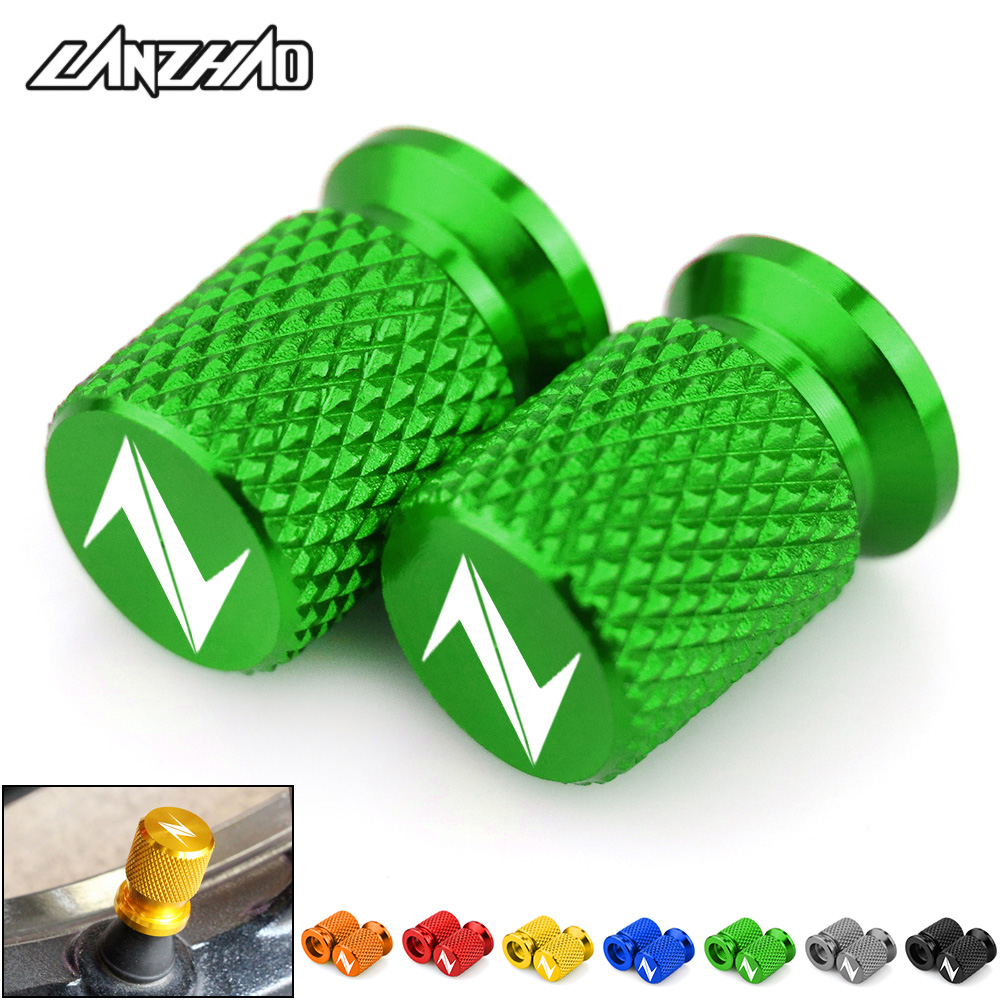 Motorcycle Tire Valve Air Port Stem Cover Cap Plug CNC Aluminum <font><b>Accessories</b></font> for <font><b>Kawasaki</b></font> Z400 Z800 <font><b>Z900</b></font> Z650 Z1000 All Year image