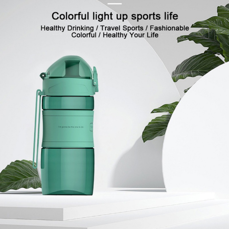 2020 Sport Water Bottle BPA Free Eco Tritan Plastic-Fast Water Flow Flip Top Water Bottle Travel Hiking Camping Portable Bottle image