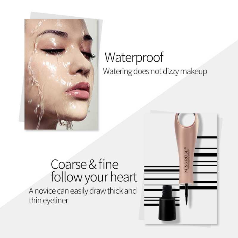 1 個女性アイライナー防水長期的なポータブル化粧品目化粧品 R1