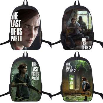 New Arrival Game The Last of Us 2 Backpacks Ellie Printing Mochilas Bags For School Teenagers Girls Bagpack Rucksack the last of us ellie costume adult halloween custom red t shirt suit for women hot game fancy shirt ellie outfit