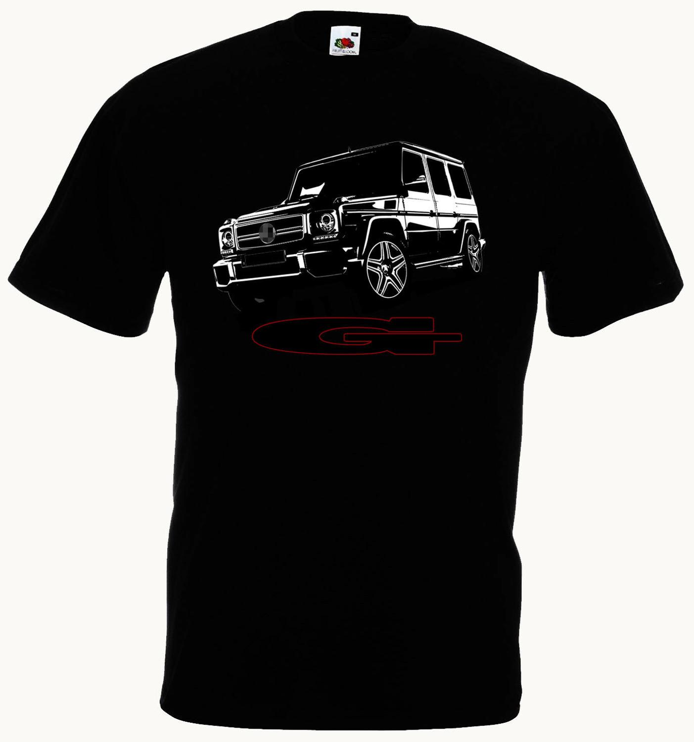 T-Shirt Auto G-Class G63 G65 Suv 4X4 Off Road Car Classic Power Fashion Newest O-Neck Summer Cotton Comfortable Homme Tee Shirt