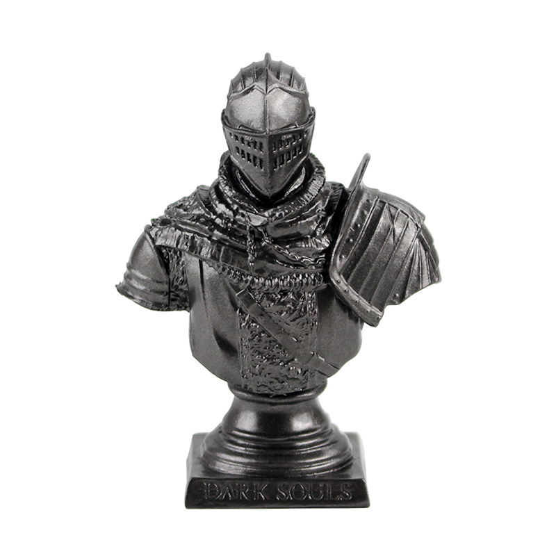 8cm GAME Dark Souls Faraam Knight Statue The Abysswalker Figure Collectible Model Toy Doll PVC Bust Figurine