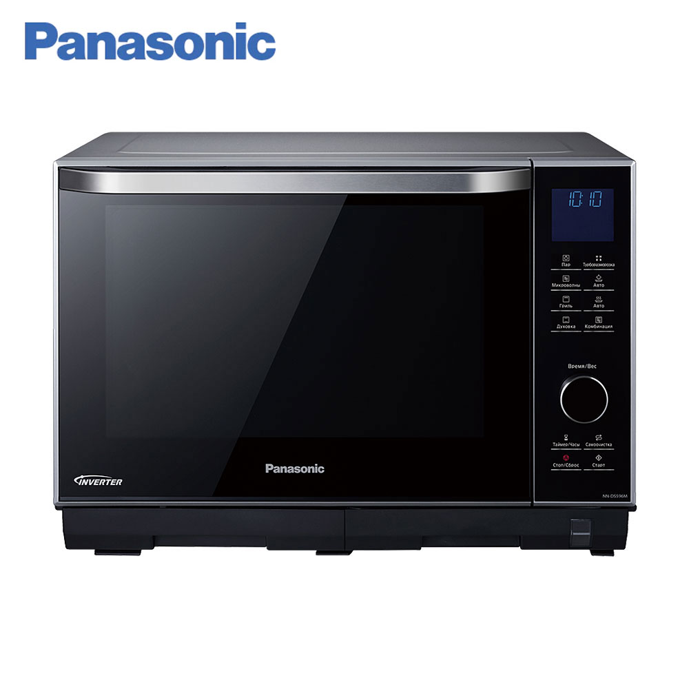 цены Microwave Ovens Panasonic NN-DS596MZPE timer Inverter panel Grilling Steam Cooking home kitchen appliances