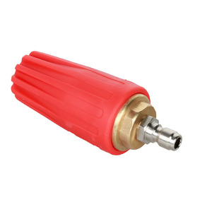 Image 1 - Auto Turbo Nozzle for Pressure washer water gun Outlet Fitting 360 degree Rotary 1/4  Quick Connect 5000 PSI ca accessories