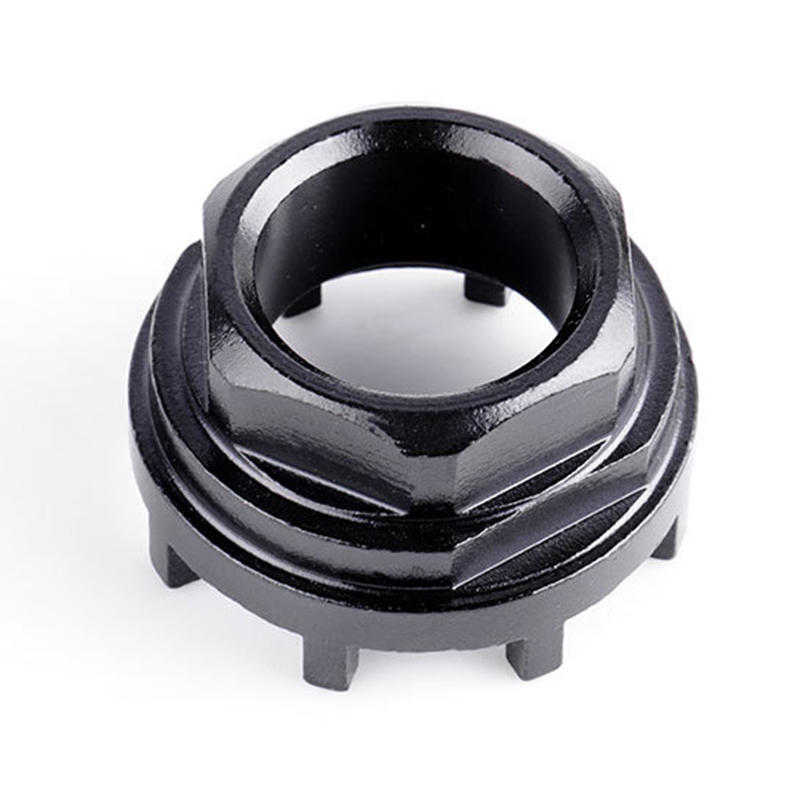1x Bike 8 Notch Cartridge Bottom Bracket Axis Sleeve Steel Mounting Bolts Tool Steel Durable And Practical