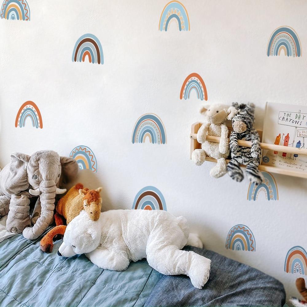 Pegatinas de pared arcoíris papel tapiz para pared moderno pegatinas paredes decoración decoracion habitacion adolescente vinilo pared