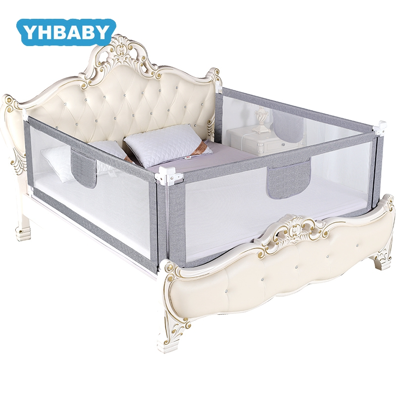 Baby Bed Fence Adjustable Baby Safety Playpen Vertical Lift Security Children Crib Rail Newborn Barrier For Beds Security Fencin