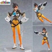 Figma 352 personagem do jogo tracer figura figura de ação pvc joint brinquedo móvel figma tracer boneca figurinhas presente