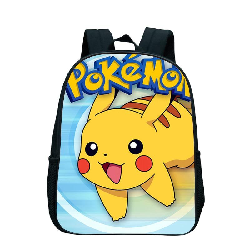Kindergarten Backpack Pikachu-Bag School Rucksack Pokemon Popular Children Beautiful