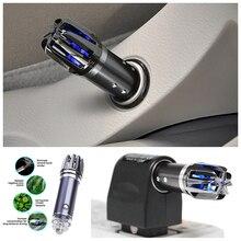 Mini Car Air Purifier Auto Fresh Air Cleaner Air Anion Ionic Purifier Ozone Ionizer Cleaner Vehicle Air Freshener Aroma Diffuser стоимость