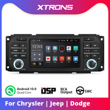 "XTRONS 5 ""Android Q 10.0 samochodowy odtwarzacz stereofoniczny DSP dla JEEP Grand Cherokee Liberty Wrangler dla chryslera dla Dodge Radio GPS bez DVD(China)"