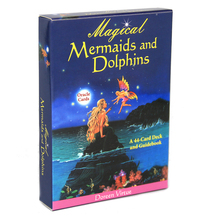 Goals Manifest Oracle-Cards Divinely Dreams Mermaids Guidebook Magical Dolphin And You