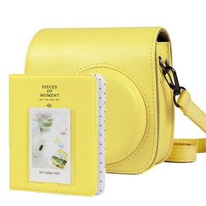 Image 4 - Fujifilm Instax Mini 9 8+ 8 Camera Accessories Bundle Set Shoulder Bag Case/Photo Album/Film Frame/Filters/Selfie Lens Kit