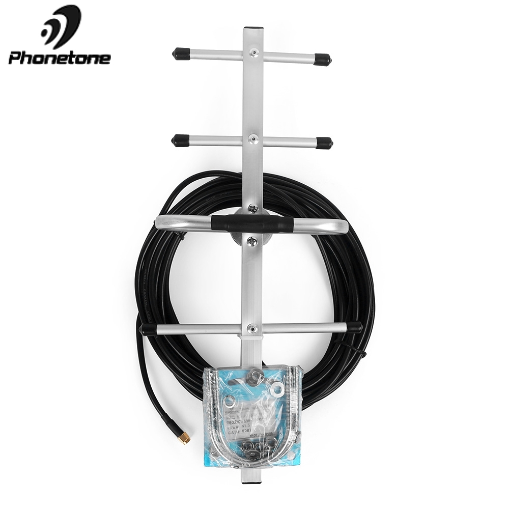4G Antenna Verizon AT&T LTE 700MHz Antenna 10dBi Outdoor Directional Yagi Antenna SMA Male 10M Cable For Cellular Signal Booster