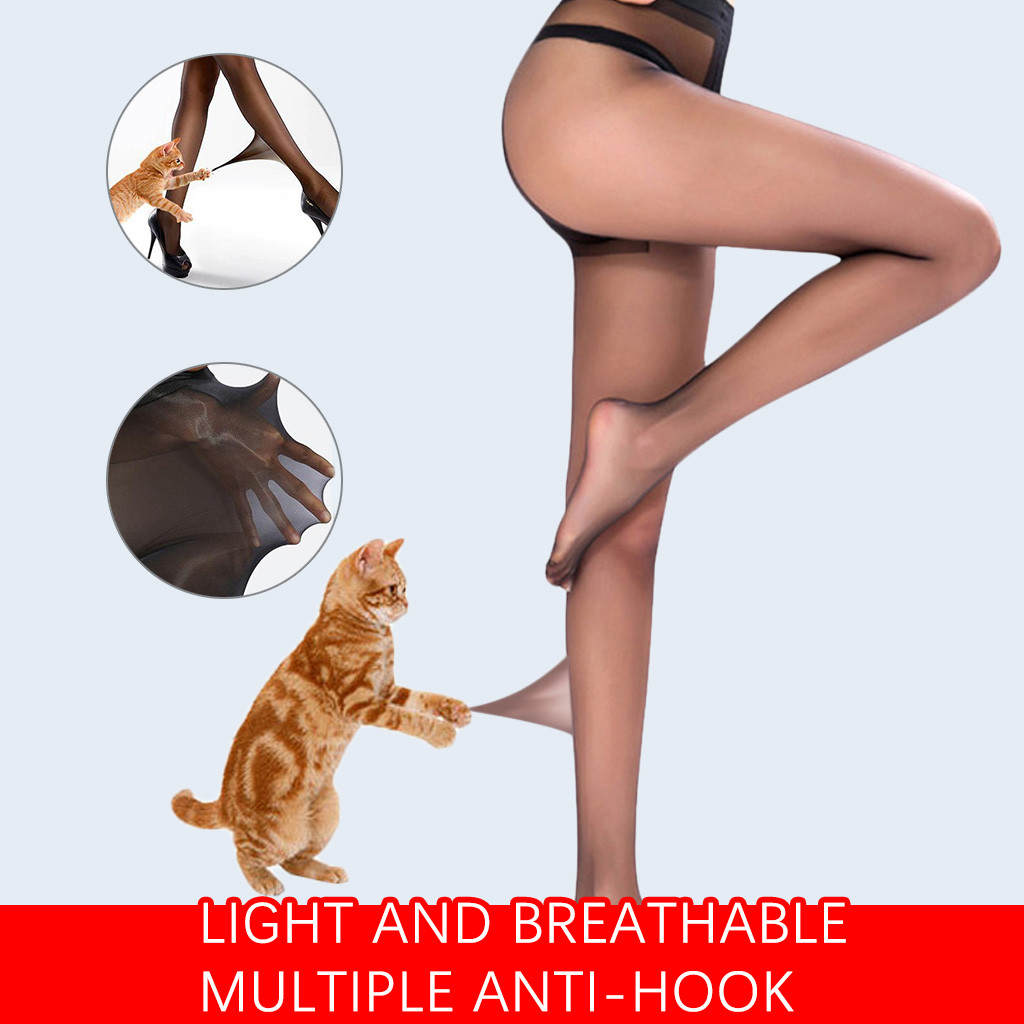 2019  New Sexy Women's Flexible Unbreakable Stockings 15D Translucent Invisible Stockings