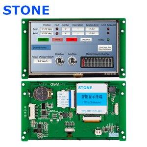 Цветной сенсорный ЖК-дисплей 5,0 дюйма с программным обеспечением + программа поддержки любого микроконтроллера 100 шт.