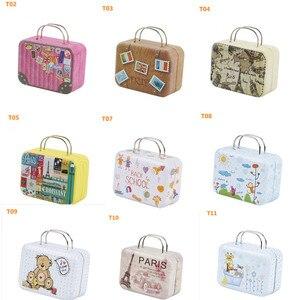 1 шт. 1/6 кукольные сумки миниатюрный чемодан для Барби 1/6,1/8 BJD,Blyth,Licca,Momoko,Pullip Сумочка куклы аксессуары