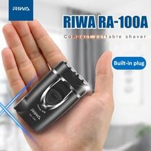 Electric-Shaver Twin-Blade Compact Riwa Protable Razor Black-Color AIKIN for Men RA-100A