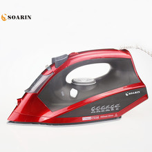 1800w Steam Iron Handheld Multifunction Adjustable Portable Iron Household Ceramic Soleplate Electric Steam Iron For Clothes