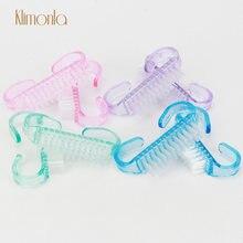 50 шт/компл щетка для чистки ногтей мягкая удаления пыли прозрачный