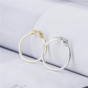 Image 2 - Rings For Women Females Jewelry Accessory Bridal Wedding Engagement Promise Gift Adjustable 2020 New Design Gold Silver Color