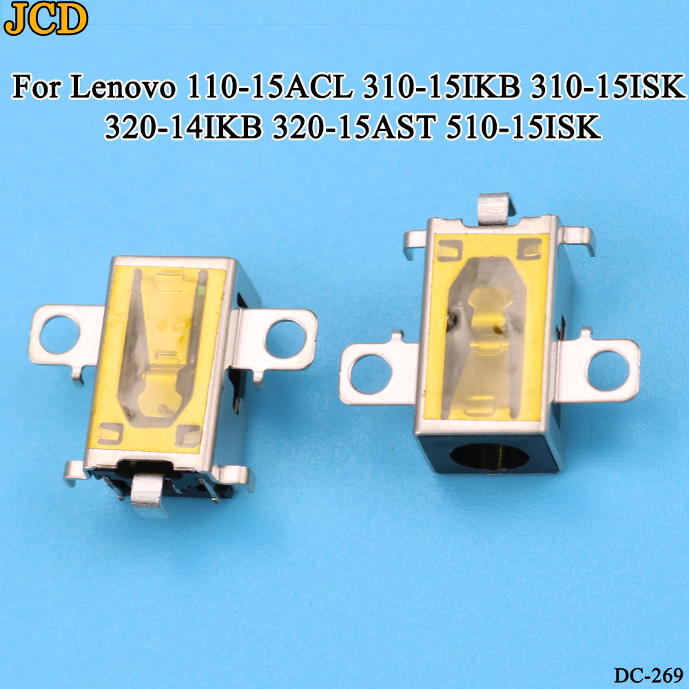 JCD 1pcs/lot DC Power Jack Socket Connector for Lenovo 110-15ACL 310-15IKB 310-<font><b>15ISK</b></font> 320-14IKB 320-15AST <font><b>510</b></font>-<font><b>15ISK</b></font> image