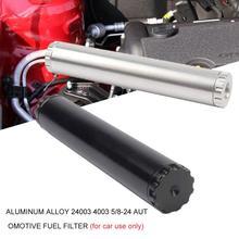 Универсальный алюминиевый сплав 5/8-24 автомобильный топливный фильтр ловушка растворитель фильтр автомобильные аксессуары запчасти автомобильные фильтры чашки