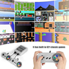 Mini TV Retro Game Console 8Bit Built-In 621 Classic Games HDMI Classic Game Console With Gamepad EU Plug Handheld Gaming Player flash sale