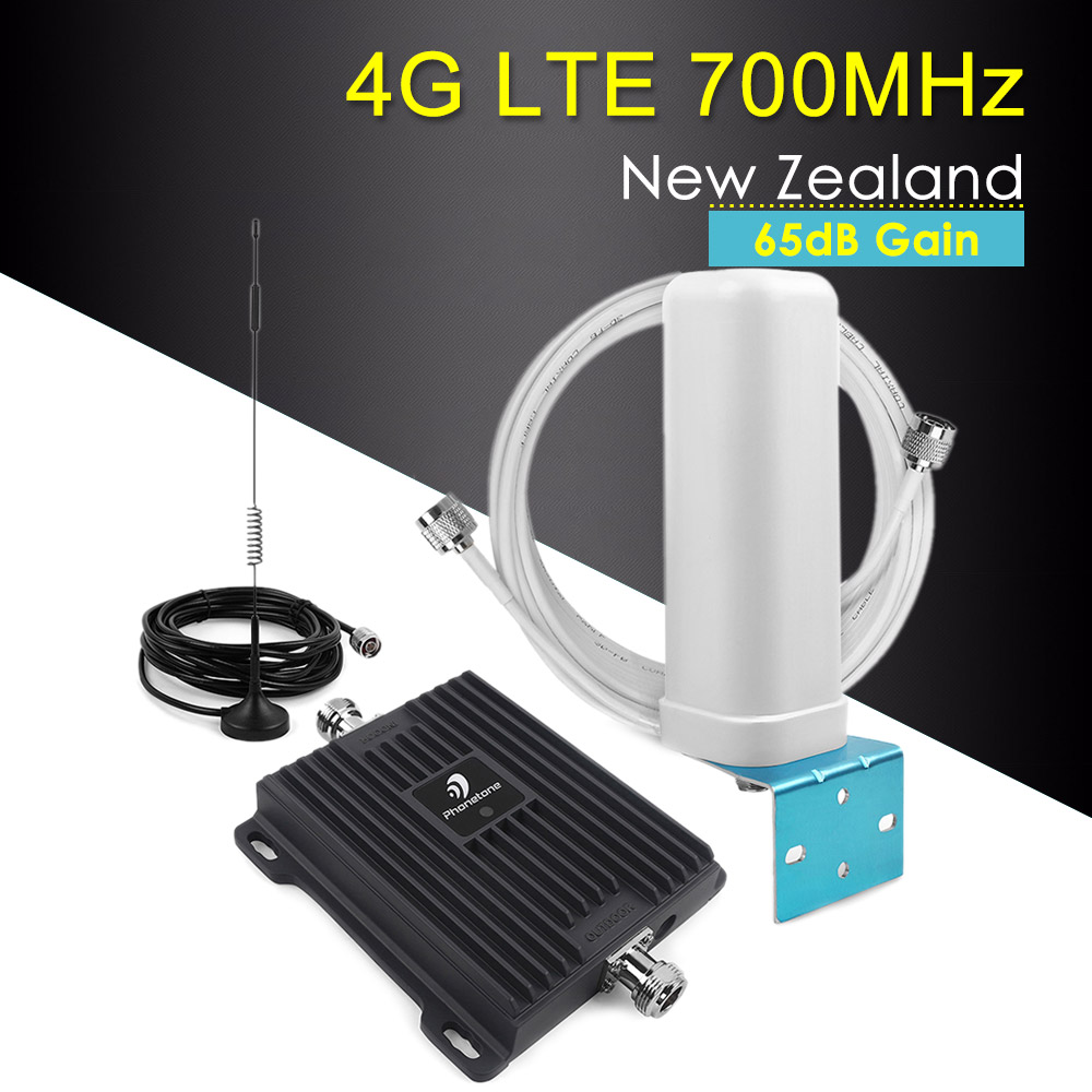 65dB Band 28 4G Amplifier LTE 700 Chile Mobile Phone Signal Booster Cell Phone Amplifier Cellular Booster 4g Lte 700mhz Repeater