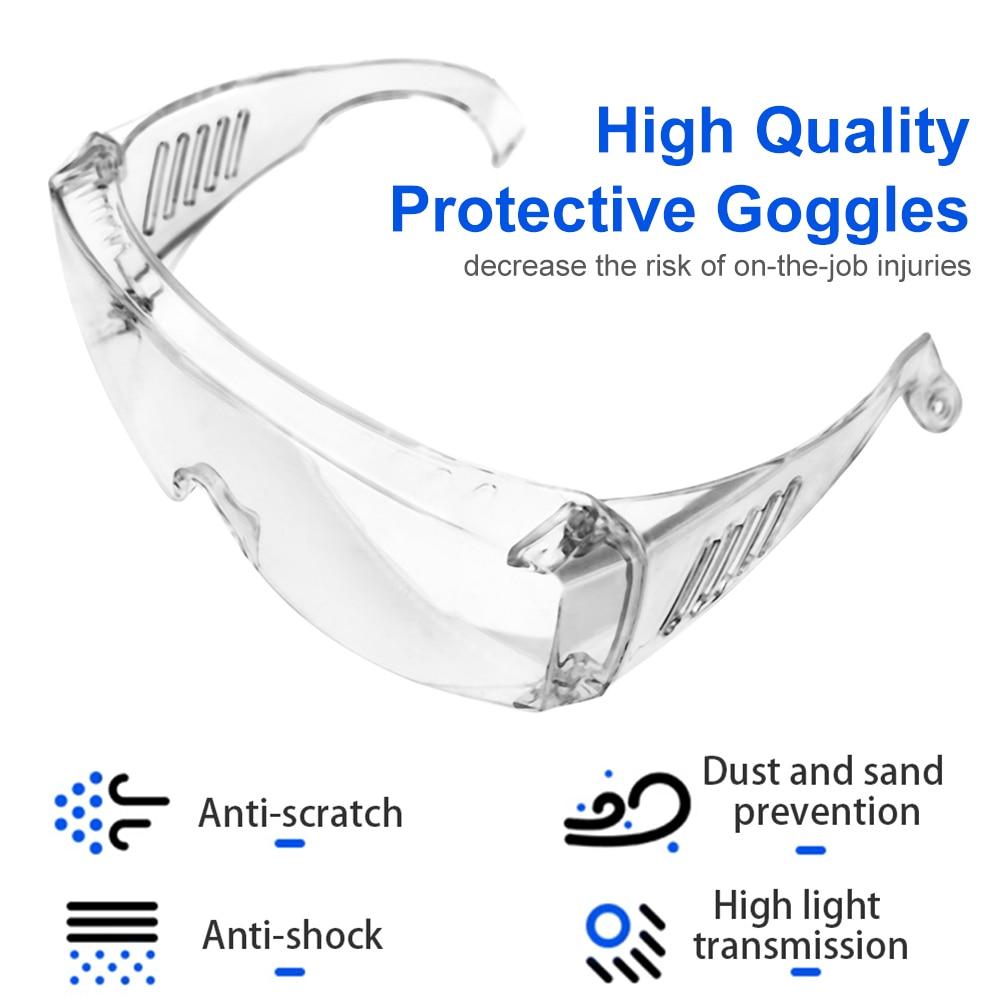 Anti Virus Goggles Anti Fog Dust Proof Eye Protection Goggles Antiviral Eyewear Protective Gears Glasses