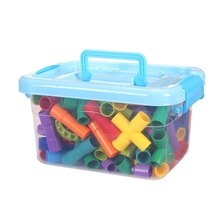 Learning-Toys-Set Building-Block for Children Boys Girls Gifts Joints Tubular-Pipes Spouts
