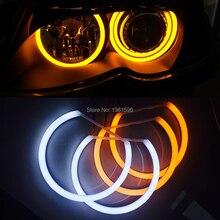 Cotton light Angel eyes halo ring kit for BMW E36 E38 E39 E46 projector headlight Error Free auto styling ccfl angel eyes white halo ring for bmw e36 e38 e39 e46 projector error free ccfl car angel eyes kit free shipping