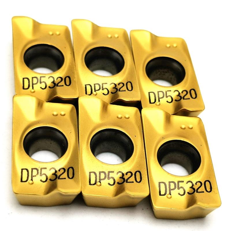 APMT1604 PDER DP5320 Milling Carbide Insert Lathe Milling Mill Cnc Tools Milling Cutter Finishing APMT1604PDER Metal Lathe Tools