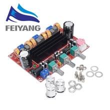 10 pièces TPA3116 2.1 carte amplificateur Audio numérique TPA3116D2 Subwoofer haut parleur amplificateurs de puissance DC12V 24V 2*50W Subwoofer 100W